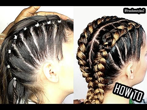 How To Do Cornrows 4 Beginners Youtube