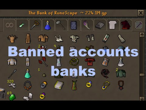 5 banned player accounts will be looted