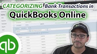 QuickBooks Online 2019 Tutorial: Categorizing transactions downloaded from Banks and Credit Cards
