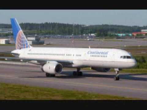 Continental Airline Aircraft Fleet