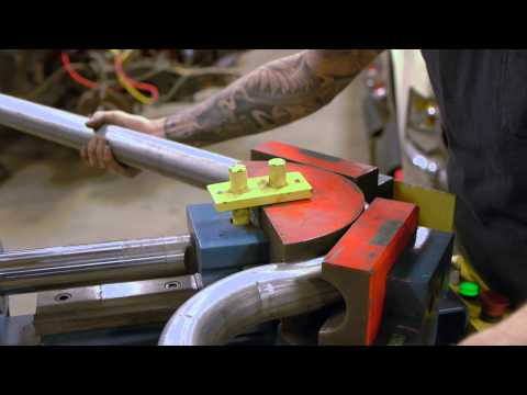 Baileigh Industrial EB-300 Exhaust Bender How to Video