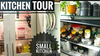 Indian Kitchen Tour | Indian kitchen organization | Milly Moitra.