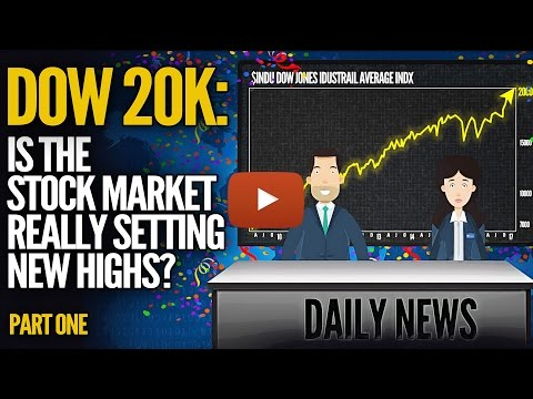 DOW 20K: Is The Stock Market Really Setting New Highs? Mike Maloney