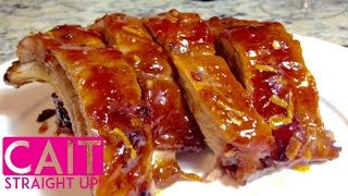 Best Pork Ribs Recipe: Simple Ingredients Amazin' Taste | Cait Straight Up