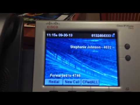 how to transfer a call on cisco ip phone 7942