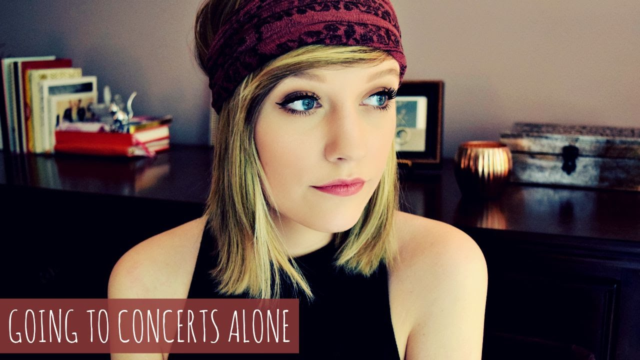 GOING TO CONCERTS ALONE - YouTube