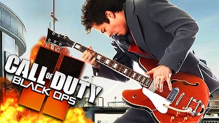 WORLDS MOST EPIC GUITARIST Plays Call of Duty! (Playing Guitar on Black Ops 2)