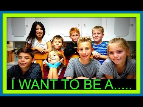 I WANT TO BE A...! | AUBREY'S BIRTHDAY!