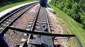Подъем вагона после схода - YouTube