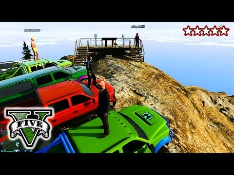 GTA 4x4 OFF-ROADING!!! - CUSTOM TRUCKS! GTA 5 -  Hanging With the Crew Grand Theft Auto 5
