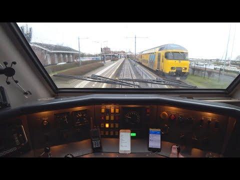 Train Driver's POV Amsterdam - Enkhuizen VIRM 2018