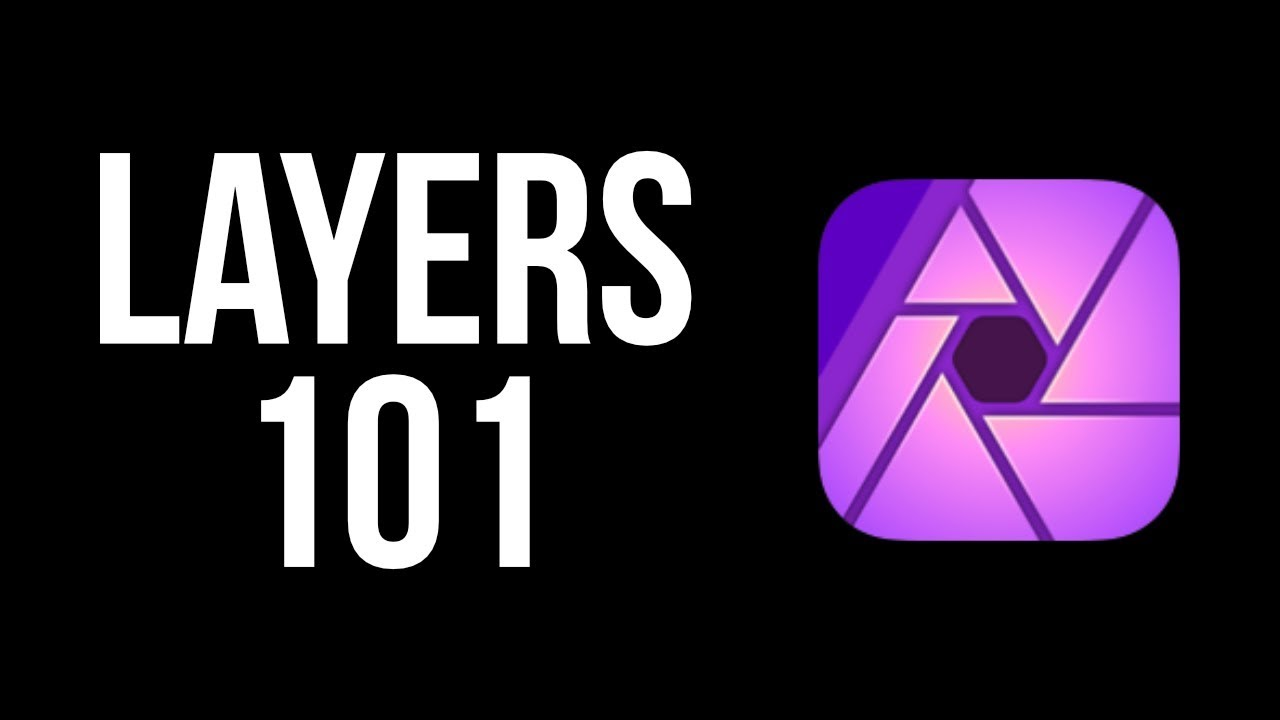 Layers for Beginners: Affinity Photo iPad Tutorial