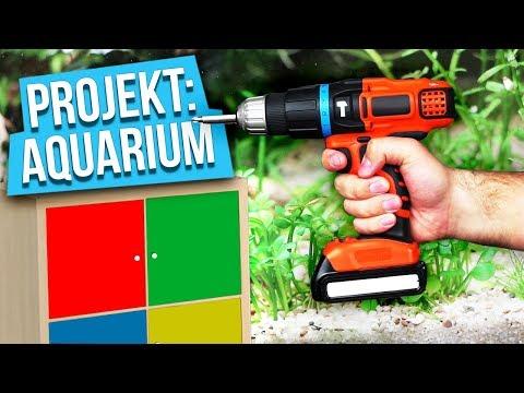 Hämmern, schrauben, sägen - Projekt: Aquarium