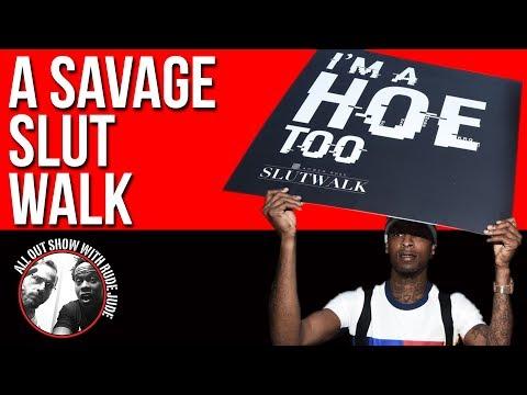 21 Savage's Suspect Slut Walk | ALL OUT SHOW
