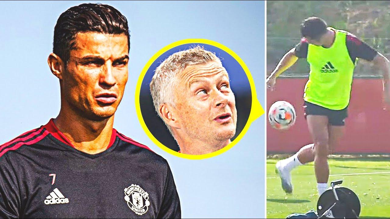 Cristiano Ronaldo's Manchester United teammates in his final match