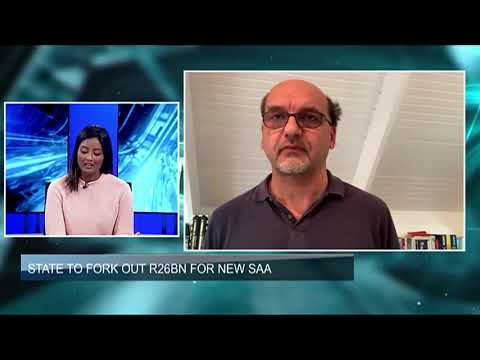 WATCH: State To Fork Out R26bn For New SAA