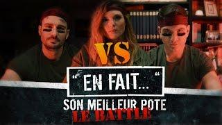 QUAND on part en BATTLE de RAP et que... ( Léa Camilleri - Vincent Scalera ) EN FAIT #10