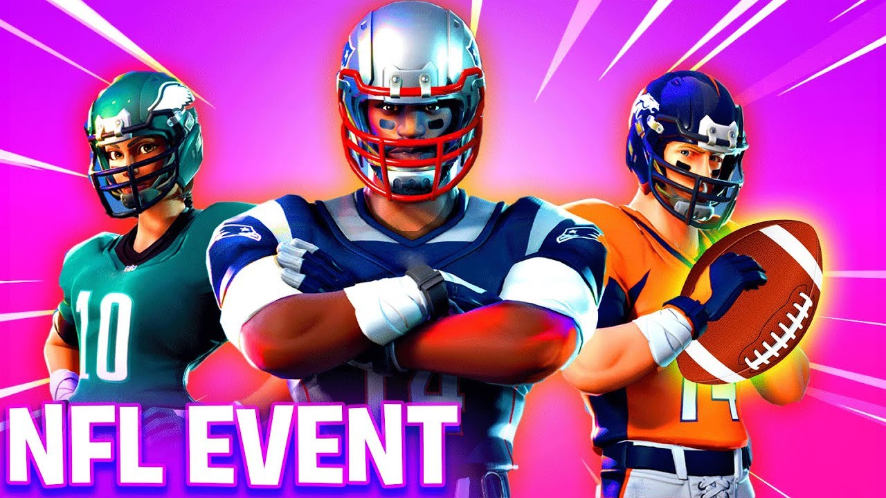 NEW Fortnite NFL EVENT! - NEW SKINS bb49f6ad2
