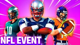 NEW Fortnite NFL EVENT! - NEW SKINS, ITEMS AND MAP CHANGES! (Fortnite Battle Royale)