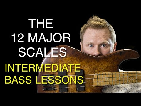 Learn Bass  The 12 major scales explained