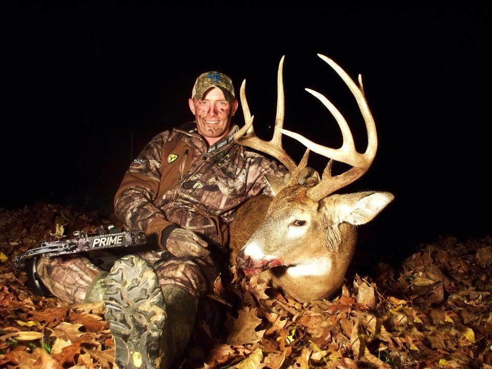 Deer Hunting Bowhunting Giant Illinois White8 Point Buck You