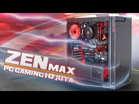 #44 PC GAMING ZENMAX 10 juta ~ Ryzen 5