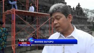 Download Video NET24 - Balai Konservasi Borobudur memasang kepala Arca Budha yang hilang ratusan tahun MP3 3GP MP4