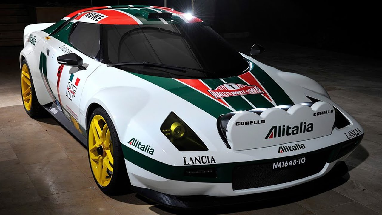 Rally Car Wallpapers Free New Lancia Stratos Hf Rally Alitalia Presented 2017 Youtube