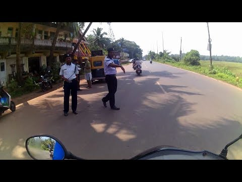 Caught by Police | Travel with me | Margao to Carmona Beach | Goa Day 1