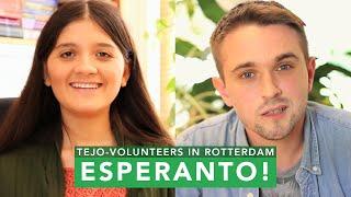 Esperanto: La vivo de la TEJO-volontuloj en Roterdamo