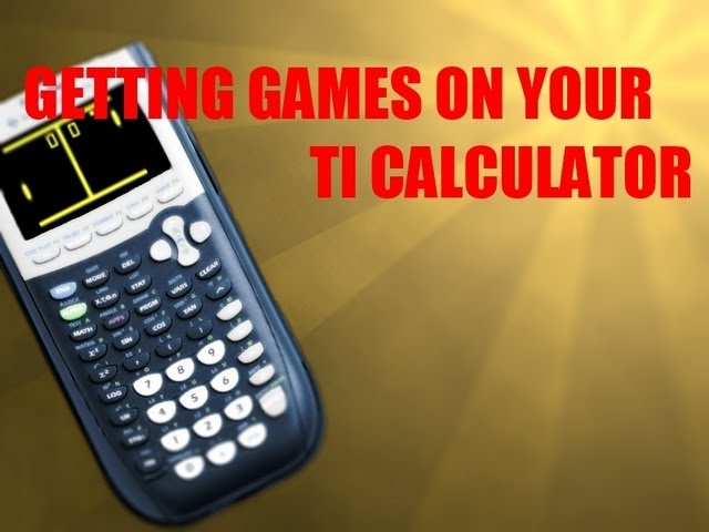 How to download Games onto your TI-84Plus/TI-84Plus Silver