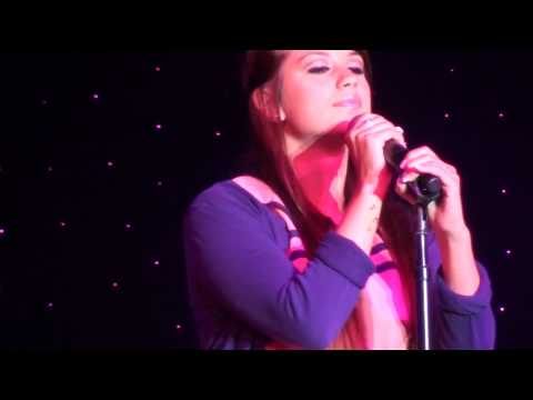 Kylie Beniamino singing on cruise ship talent contest