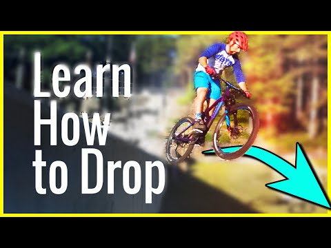 Learn How To Drop on a Mountain bike skill tutorial | Skills with Phil