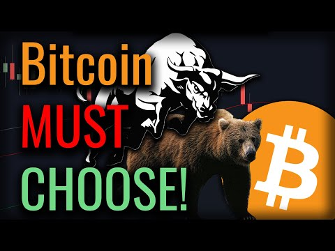 A Huge Decision Point Is Coming Up On Bitcoin - This Will Be Big!