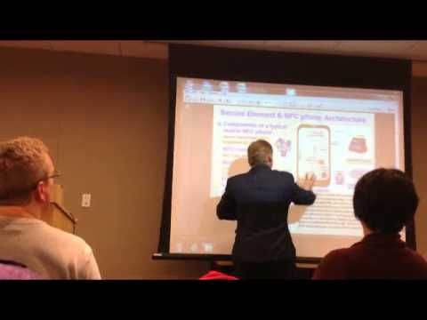 Karl J  Weaver presents @ Seattle Technical Forums 11 13 2013 on Mobile NFC Payments TEE Mobile Devi