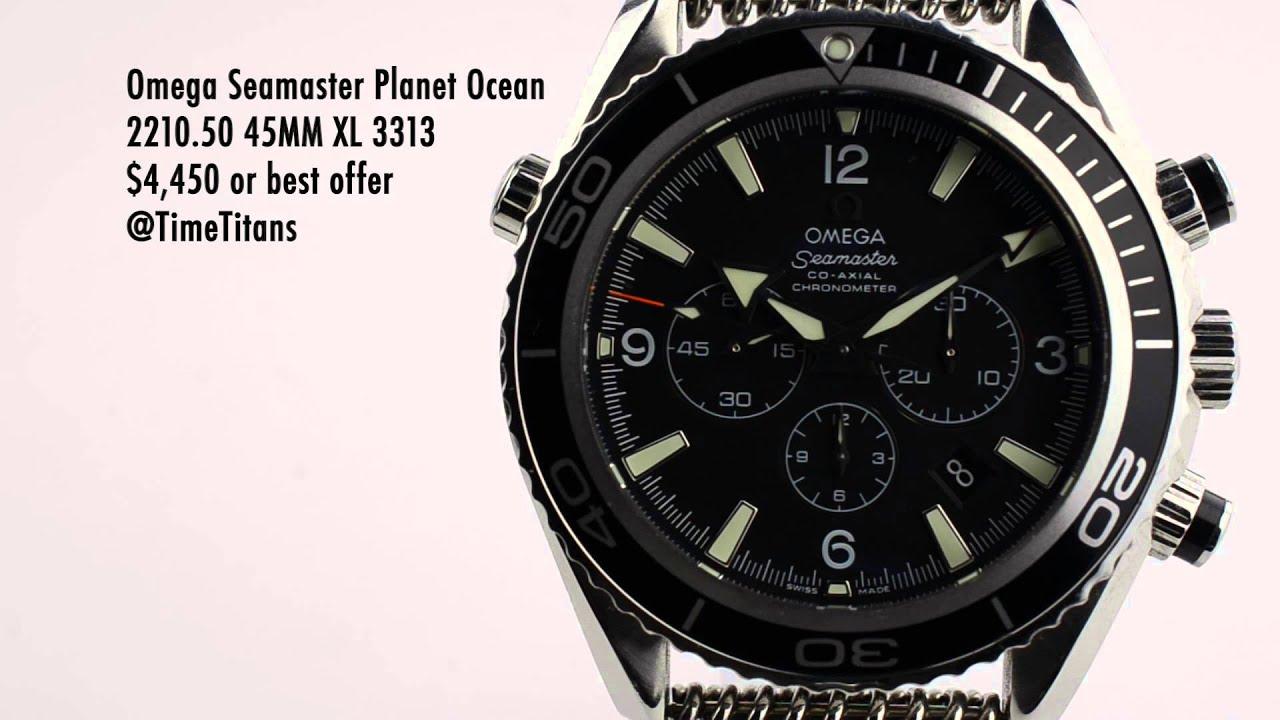 Omega Planet Ocean Xl Chronograph