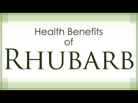 Rhubarb Health Benefits - Health Benefits Of Rhubarb - Healthy Vegetables