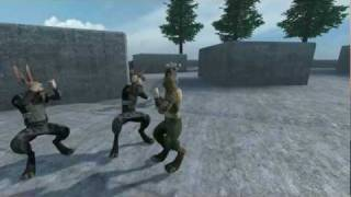Overgrowth Knife Combat