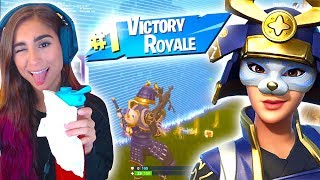 *NEW* FORTNITE HIME SKIN FTW! LUCKY SKIN?!