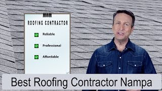Best Roofing Contractor Nampa