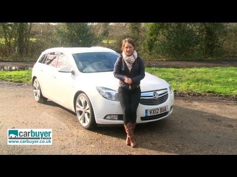 Vauxhall Insignia Sports Tourer estate 2013 review CarBuyer