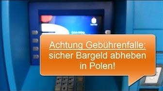 Geld abheben in Polen ➜ Abzocke vermeiden ✔
