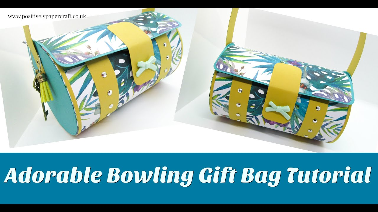 Gorgeous & SIMPLE Bowling Bag Tutorial