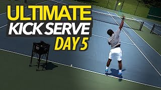 5 Day ULTIMATE Kick Serve Lesson | Day 5: Acceleration