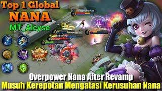 OVERPOWER NANA AFTER REVAMP | Musuh Kerepotan Mengatasi Nana - Top 1 Global Nana MT_Alcyse