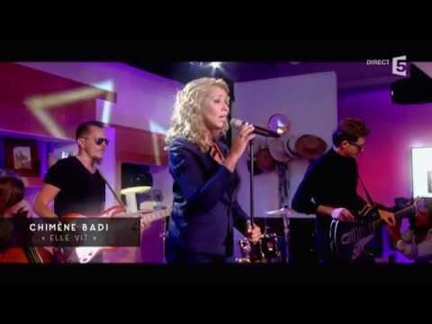 """Live, Chimène Badi avec """"Elle vit"""" - C à vous - 10/09/2015"""