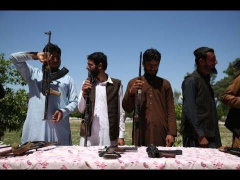 """Афганистан """" Голосование под пулями ."""""""