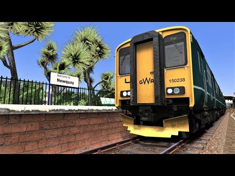 Train Simulator 2018: Exclusive First Look Atlantic Coast line Newquy-Par By  High Speed Tracks