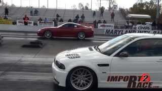 Supra Vs M3 BMW Drag Race