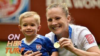 Women's World Cup 2019: Amy Rodriguez balances motherhood, soccer | Off the Pitch Ep. 6 | NBC Sports